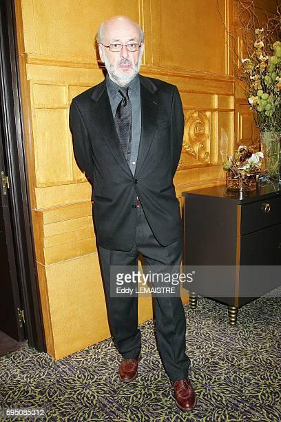 Director Bertrand Tavernier attends the Cesar Pre Party held in Paris.