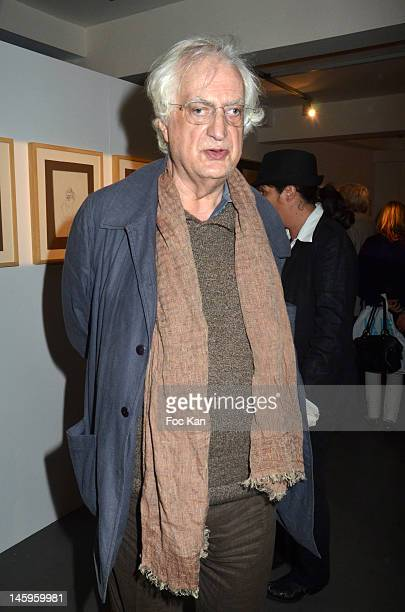 Director Bertrand Tavernier attends the Ettore Scola Exhibition Preview at Galerie Catherine Houard on June 7, 2012 in Paris, France.