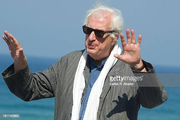 Director Bertrand Tavernier attends the Quai D'Orsay photocall during the 61st San Sebastian International Film Festival at the Kursaal Palace on...