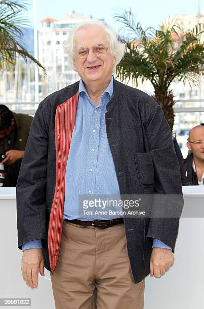 Director Bertrand Tavernier attends the 'The Princess Of Montpensier' Photo Call held at the Palais des Festivals during the 63rd Annual...