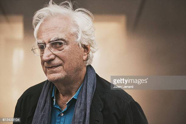 Director Bertrand Tavernier is photographed for Le Film Francais on September 14 2016 in Paris France