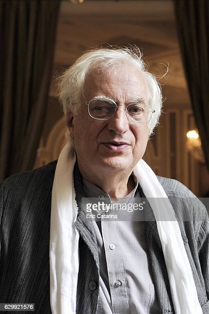 Director Bertrand Tavernier is photographed for Self Assignment on September 25 2013 in San Sebastian Spain