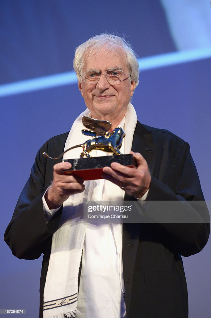 Bertrand Tavernier Golden Lion For Lifetime Achievement 2015 Ceremony - Inside - 72nd Venice Film Festival