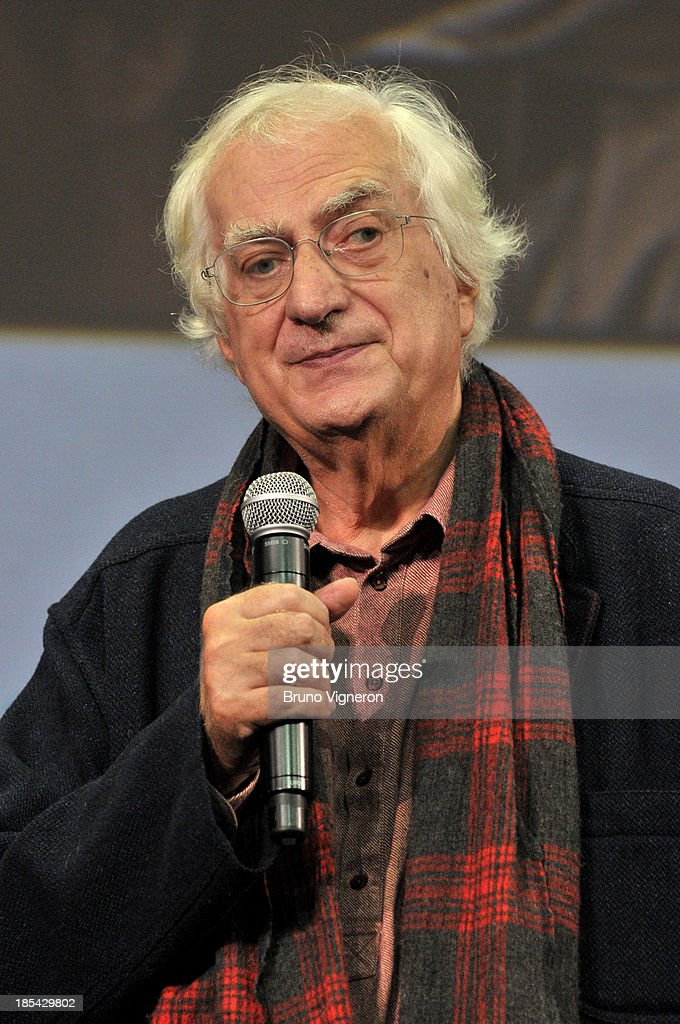 Director Bertrand Tavernier on stage during the closing ceremony of 'Lumiere 2013, Grand Lyon Film Festival' on October 20, 2013 in Lyon, France.