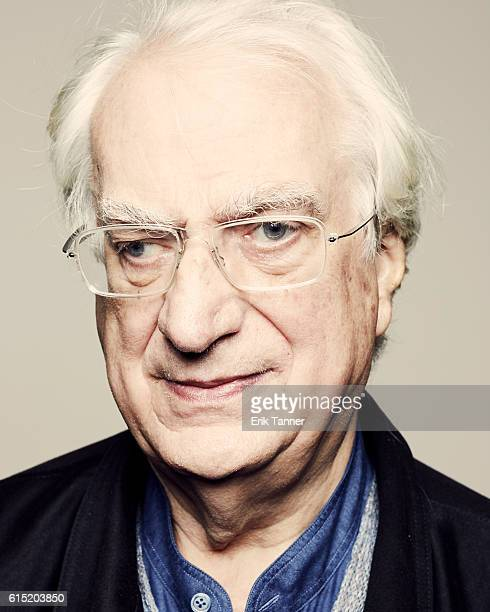 Director Bertrand Tavernier poses for a portrait during the 54th New York Film Festival at Lincoln Center on October 1 2016 in New York City