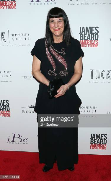 Director Beth Federici attends the James Beard America's First Foodie NYC premiere at iPic Fulton Market on April 23 2017 in New York City