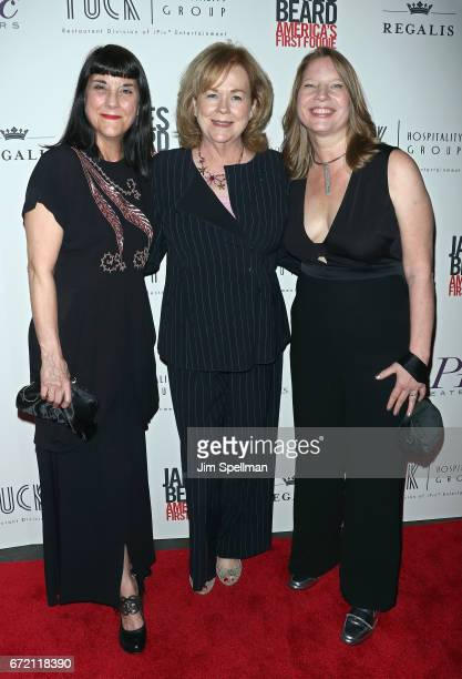 """Director Beth Federici, president of the James Beard Foundation Susan Ungaro and Co-producer Kathleen Squires attend the """"James Beard: America's..."""