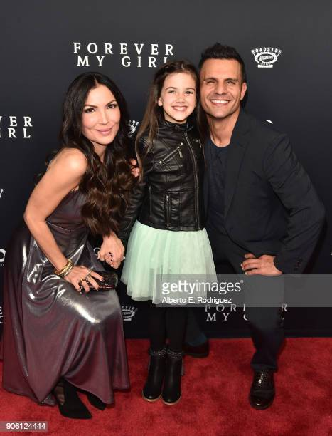 Director Bethany Ashton Wolf actress Abby Ryder Fortson and producer Pete Shilaimon attend the premiere of Roadside Attractions' 'Forever My Girl' at...