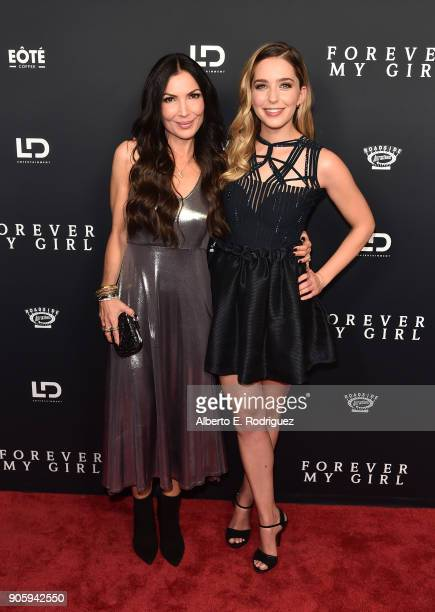 Director Bethany Ashton Wolf and Actress Jessica Rothe attend the premiere of Roadside Attractions' 'Forever My Girl' at The London West Hollywood on...