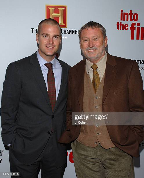 Director Bill Couturie and Chris O'Donnell during Chris O'Donnell and Fireman's Fund Insurance Company Host World Premiere of Into The Fire at The...