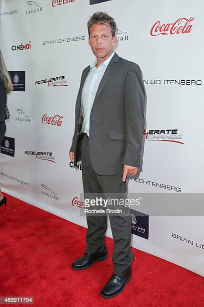 Director Bill McAdams arrives at the Accelerate4Change charity event presented by Dr Ben Talei Cinemoi on August 29 2015 in Beverly Hills California