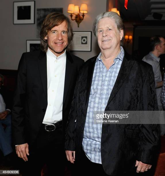 Director Bill Pohlad and singer/songwriter Brian Wilson at the 'Love Mercy' world premiere party hosted by GREY GOOSE vodka and Soho House Toronto...