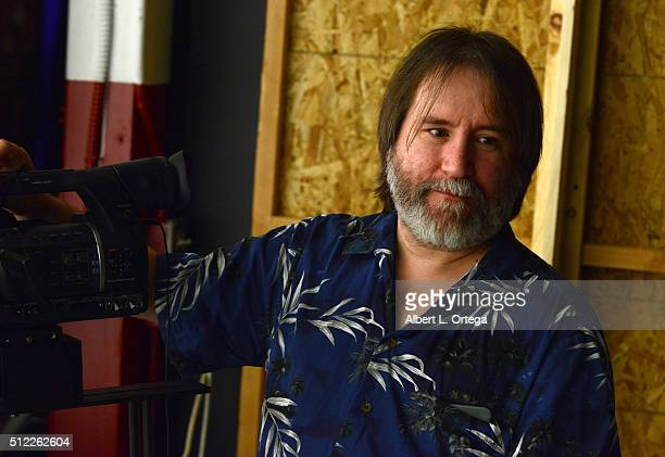 Director Bill Watters at the Nominations Announcement For The 42nd Annual Saturn Awards held at Geek Nation Studios on February 11, 2016 in Van Nuys,...