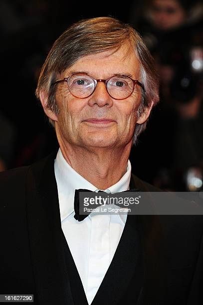 Director Bille August attends the 'Night Train to Lisbon' Premiere during the 63rd Berlinale International Film Festival at the Berlinale Palast on...