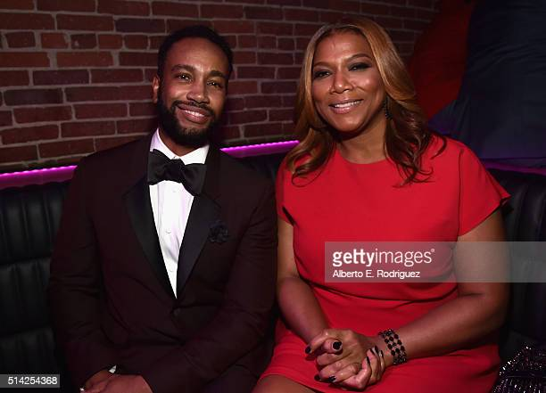 Director Bille Woodruff and producer Queen Latifah attend the after party for the premiere of Lionsgate's 'The Perfect Match' at ArcLight Hollywood...