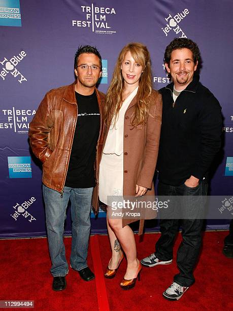 Director Billy Corben Producer Jen Gatien and Alfred Spellman attend the premiere of The Limelight during the 2011 Tribeca Film Festival at SVA...