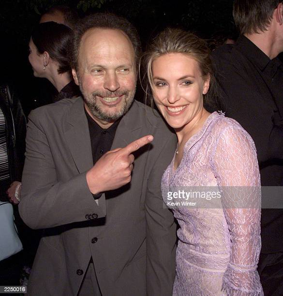 Director Billy Crystal and daughter Jennifer Crystal Foley at HBO's screening of '61*' at Paramount Studios in Los Angeles Ca 4/16/01 Photo by Kevin...