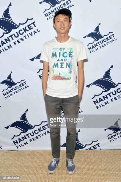 Director Bing Liu attends a screening of 'Minding the Gap' during the 2018 Nantucket Film Festival Day 3 on June 22 2018 in Nantucket Massachusetts