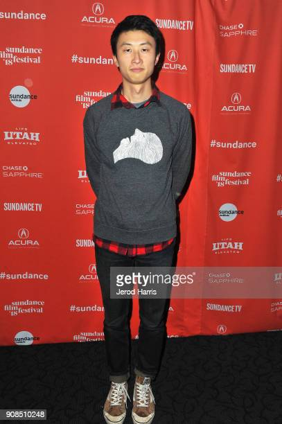 Director Bing Liu attends the Minding The Gap Premiere during the 2018 Sundance Film Festival at Egyptian Theatre on January 21 2018 in Park City Utah