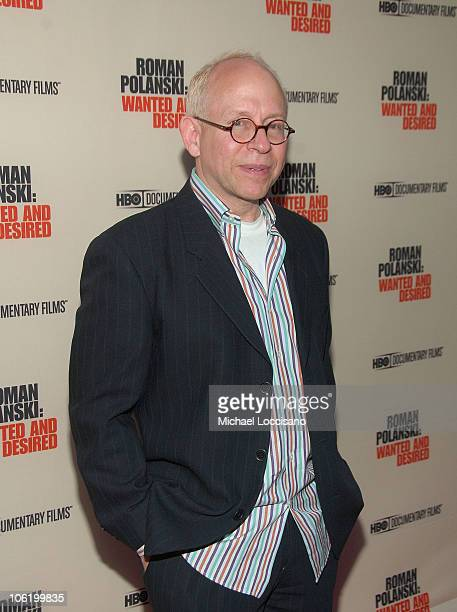 Director Bob Balaban attends the HBO Documentaries premiere Of Roman Polanski Wanted And Desired at The Paris Thatre in New York City on May 6 2008