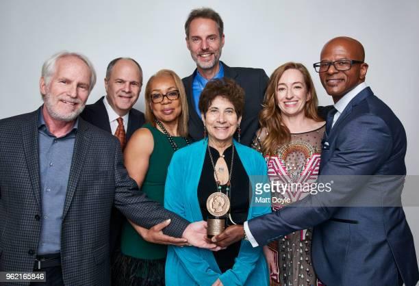 Director Bob Hercules Michael Kantor director Rita Coburn Whack Linda Mensch Steve Sarowitz Una Jackman and Raymond Lambert of 'Maya Angelou And...