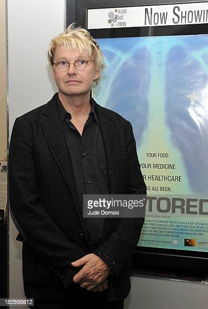 """Director Bobby Sheehan attends the """"Doctored"""" premiere at Village East Cinema on September 21, 2012 in New York City."""