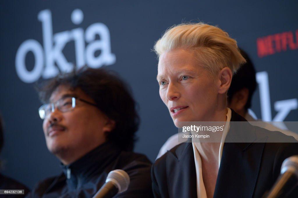 """Okja"" Press Conference New York"