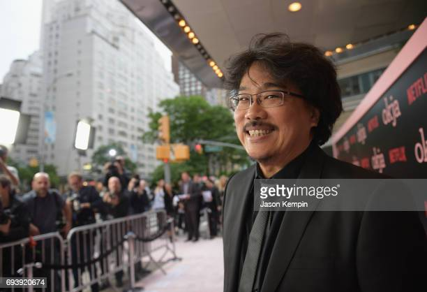 Director Bong Joon Ho attends Okja New York Premiere at AMC Loews Lincoln Square 13 on June 8 2017 in New York City