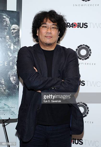 Director Bong Joon Ho attends the Snowpiercer premiere at Museum of Modern Art on June 24 2014 in New York City