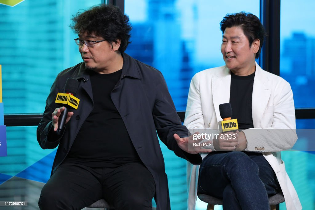 Director Bong Joon-Ho and actor Song Kang-Ho of 'Parasite