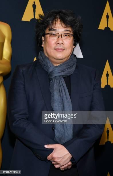 Director Bong Joon-ho attends Oscars Week: International Feature Film at the Samuel Goldwyn Theater on February 06, 2020 in Beverly Hills, California.