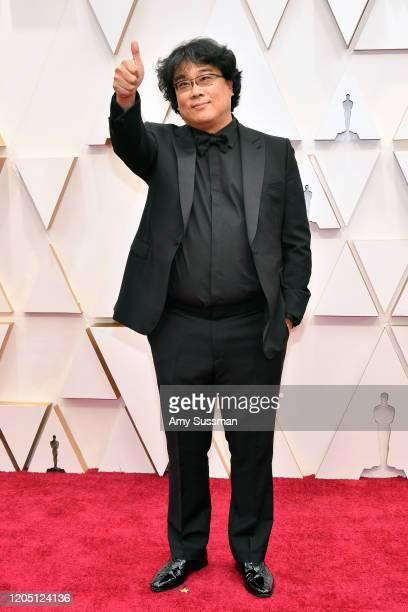 Director Bong Joonho attends the 92nd Annual Academy Awards at Hollywood and Highland on February 09 2020 in Hollywood California