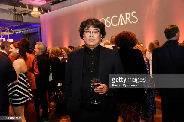 Director Bong Joon-ho attends the 92nd Oscars Nominees Luncheon on January 27, 2020 in Hollywood, California.