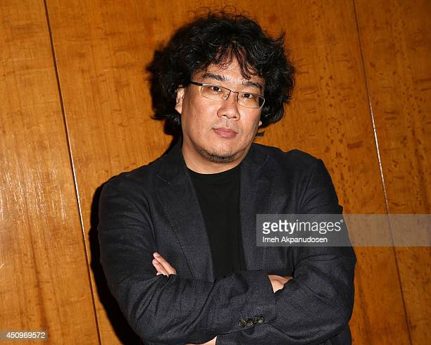 Director Bong Joonho attends The Academy Of Motion Picture Arts And Sciences' special screening of 'Snowpiercer' at Bing Theatre At LACMA on June 20...