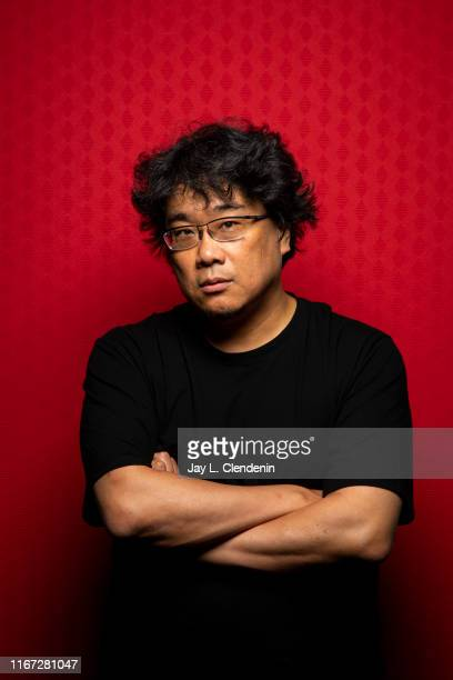 Director Bong Joonho from 'Parasite' is photographed for Los Angeles Times on September 7 2019 at the Toronto International Film Festival in Toronto...