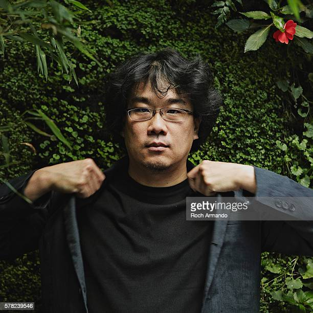 Director Bong Joonho is photographed for Positif on September 5 2013 in Paris France