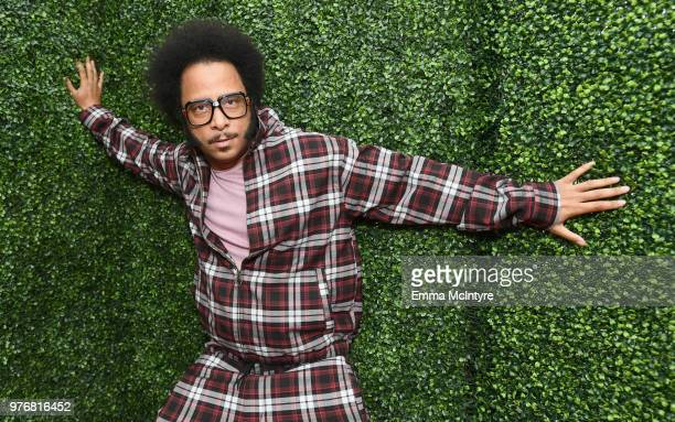Director Boots Riley attends the 2018 MTV Movie And TV Awards at Barker Hangar on June 16 2018 in Santa Monica California