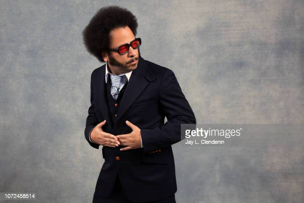 Director Boots Riley from Sorry to Bother You is photographed for Los Angeles Times on January 20 2018 in the LA Times Studio at Chase Sapphire on...