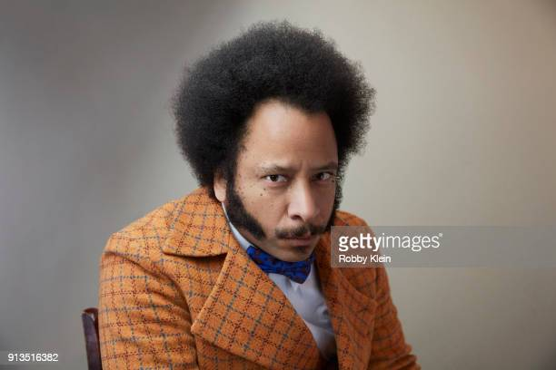 Director Boots Riley from the film 'Sorry To Bother You' poses for a portrait in the YouTube x Getty Images Portrait Studio at 2018 Sundance Film...