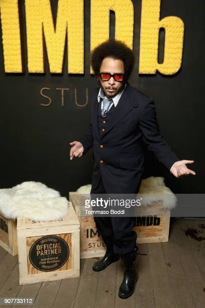 Director Boots Riley of 'Sorry To Bother You' attends The IMDb Studio and The IMDb Show on Location at The Sundance Film Festival on January 20 2018...