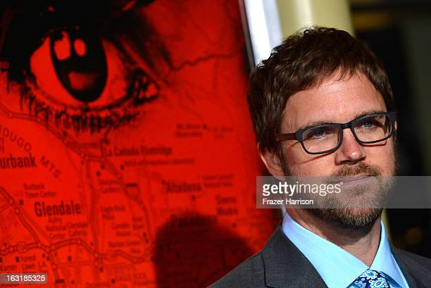 Director Brad Anderson arrives at the premiere Of Tri Star Pictures' The Call at ArcLight Cinemas on March 5 2013 in Hollywood California