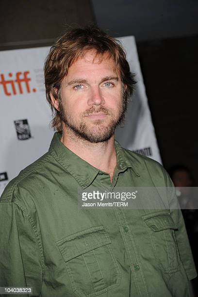 Director Brad Anderson attends the Vanishing On 7th Street Premiere at Ryerson Theatre during the Toronto International Film Festival on September 12...