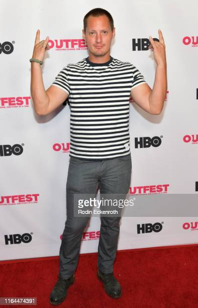 Director Brad Elsmore attends the 2019 Outfest Los Angeles LGBTQ Film Festival screening of Bit at TCL Chinese 6 Theatres on July 26 2019 in...