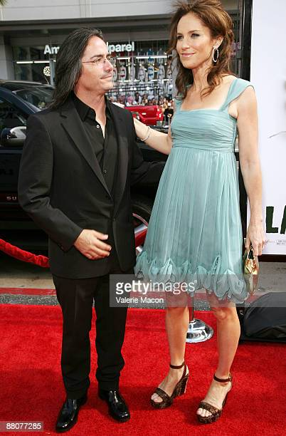 Director Brad Silberling and actress Amy Brenneman arrive at the premiere of Universal Pictures' 'Land of Lost' at the Chinese Theatre on May 30 2009...