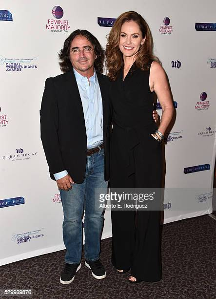 Director Brad Silberling and actress Amy Brenneman attend the 11th Annual Global Women's Rights Awards at the Directors Guild of America on May 09...
