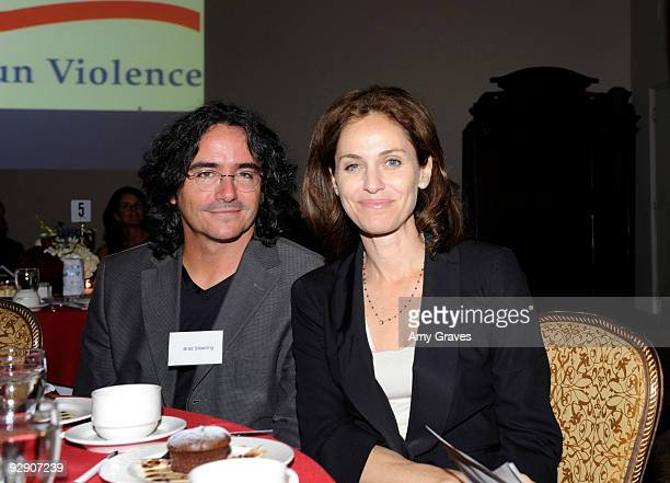 Director Brad Silberling and actress Amy Brenneman attend the 2009 Brady Center to Prevent Gun Violence Awards at the Riviera Country Club on...