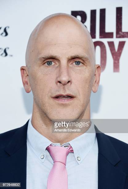 Director Bradley Buecker arrives at the Los Angeles premiere of 'Billy Boy' at the Laemmle Music Hall on June 12 2018 in Beverly Hills California