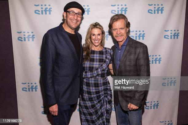 """Director Bradley Jay Kaplan, Producer Rachel Winter and Actor William H. Macy attends a screening of the film """"Stealing Cars"""" and a Q&A hosted by..."""