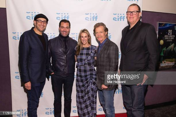 Director Bradley Jay Kaplan, TheFilmSchool Vice President Scott Wasner, Producer Rachel Winter, Actor William H. Macy and Producer Sean Lydiard...
