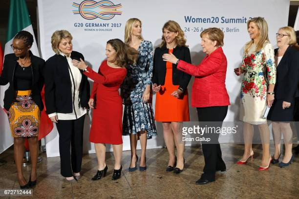Director BRCK Juliana Rotich ViceChairman of Bank of America Anne Finucane Canadian Minister of Foreign Affairs Chrystia Freeland Ivanka Trump...
